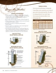 Country Manor Estimating Charts - Keystone