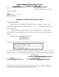 United States Bankruptcy Court - Petters Fraud