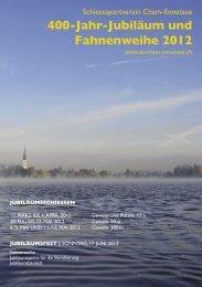 400-Jahr-Jubiläum und Fahnenweihe 2012 - SSV Cham-Ennetsee
