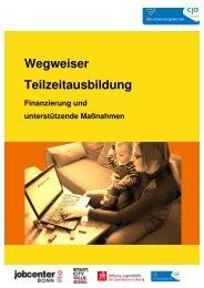Wegweiser Teilzeitausbildung - CJD Bonn