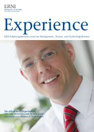 ITIL als Unterstützung der It-Governance - erni-consultants.com
