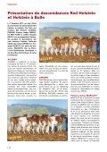 swissherdbook bulletin 1-2012-2-f - Page 3