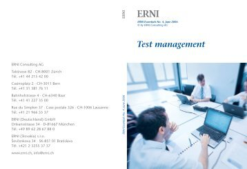 Test management - joinerni.com - EN