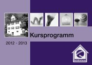 Kursprogramm - Schälehuus-Club Homepage