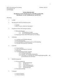Entwurf des Schulprogramms 2004/2005 - Homepage des OSZ II ...