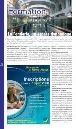 La Fonderie, un espace dynamique - JDS.fr