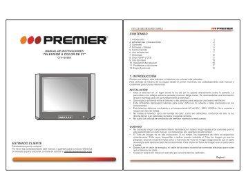 User Manual English/Español - Premier
