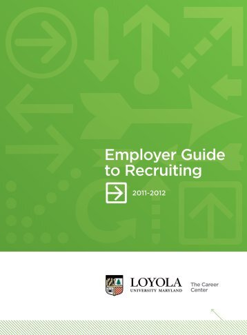 Employer Guide to Recruiting - Alumni Community - Loyola ...