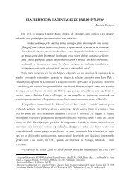 glauber rocha ea tentação do exílio (1972-1976)1 - Diversitas - USP