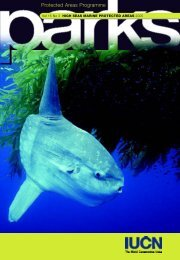 Protected Areas Programme - Marine Conservation Biology Institute