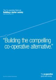 Interim Report 2011 (PDF - 0.9MB) - The Co-operative Banking Group