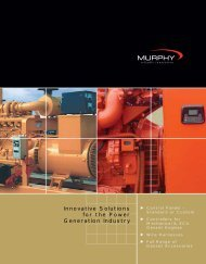 Innovative Solutions for the Power Generation Industry - Murphy