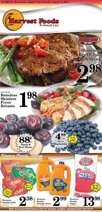 Harvest 2013-08-07 - URM Stores, Inc.