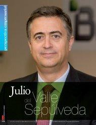D. Julio del Valle - Revista DINTEL Alta Dirección