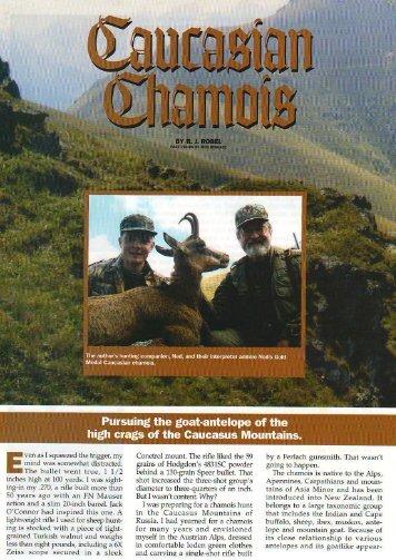 Caucasian Chamois - ProfiHunt
