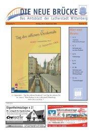 und Heute - Lutherstadt Wittenberg