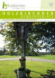 Ausgabe • November 2011 - Holzkirchen