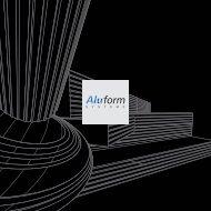 Aluminium profielplat - Aluform System GmbH & Co. KG