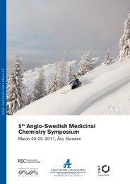 5th Anglo-Swedish Medicinal Chemistry Symposium