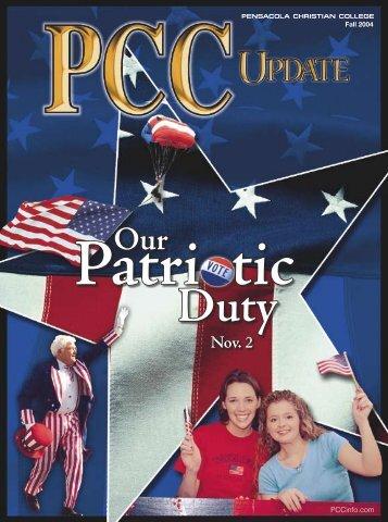 PCC Update Fall 2004 - Pensacola Christian College