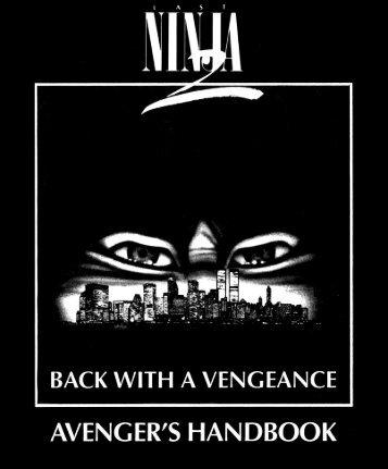 Last Ninja II - Manuel (Français)