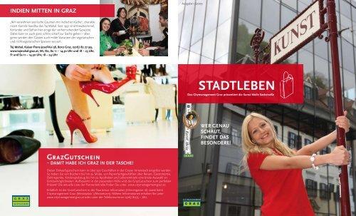 Stadtleben Magazin: 1. Ausgabe 2009 - Kunst ... - Graz Tourismus