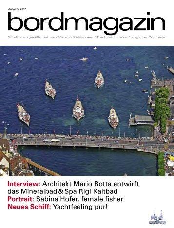 Interview: Architekt Mario Botta entwirft das Mineralbad & Spa Rigi ...