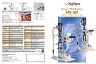 New-generation Zoom Slit Lamp NS-2D Digital Photo ... - s4optik.com
