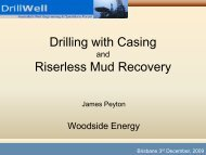 Drilling with Casing Riserless Mud Recovery - DrillSafe