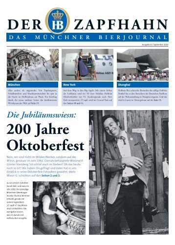 200 Jahre Oktoberfest - Staatliches Hofbräuhaus in München