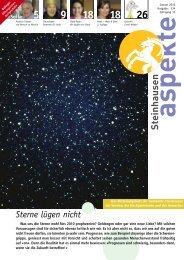 Ausgabe 01/2010 - Aspekte Steinhausen