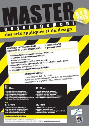 UFR ARTS - site national | design & arts appliqués