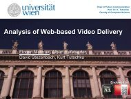Analysis of Web-based Video Delivery - ResearchGate