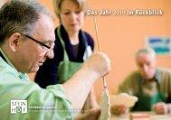 Das Jahr 2010 im Rückblick - Steinhof Pflegeheim