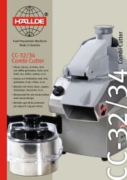 CC-32/34 Combi Cutter Combi Cutter
