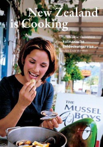 is Cooking New Zealand - Kulinarisches Festival