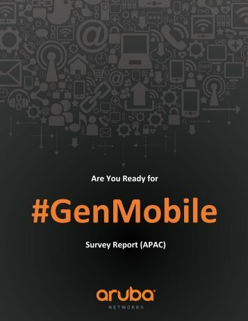 APAC Are you ready for Gen-M Survey Report Final