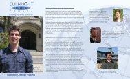 Fullbright Scholarship - Carleton University