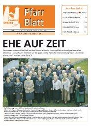 Aus dem Inhalt - Pfarrverband Weiz - Diözese Graz-Seckau