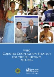 Country Cooperation Strategy pdf, 12.15Mb - WHO Western Pacific ...