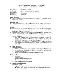 rencana pelaksanaan pembelajaran - Smk Negeri 3 Amuntai's Blog