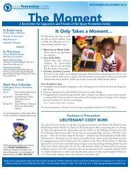 December 2010 - Arkansas Children's Hospital