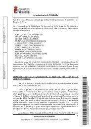 Sesión de 24 de mayo de 2013 - Ayuntamiento Villalbilla