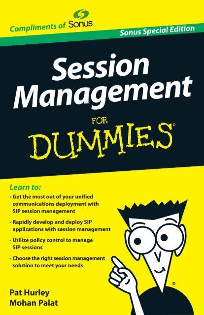 Session Management For Dummies, Sonus ... - Sonus Networks