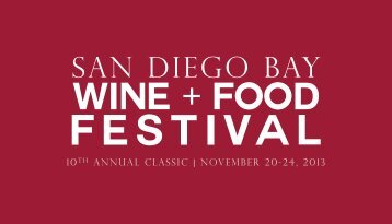 2013_SDBWFF_Sponsors.. - San Diego Bay Wine and Food Festival
