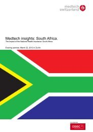 Medtech insights: South Africa.
