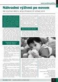 SOCIÁLNA POLITIKA - Ústredie práce, sociálnych vecí a rodiny - Page 3