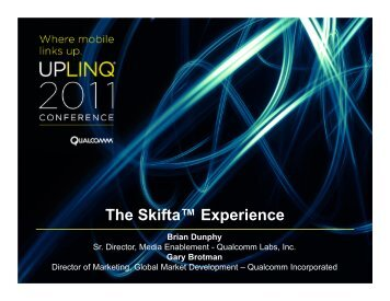The Skifta™ Experience - Uplinq
