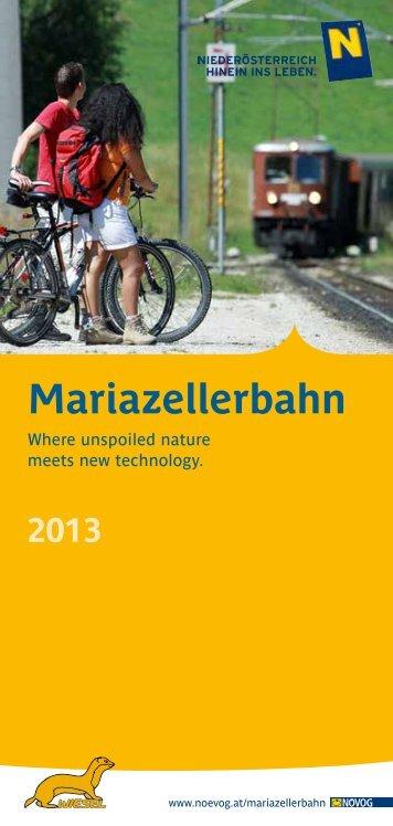 Mariazellerbahn - NÖVOG