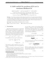 A viable method for goodness-of-fit test in maximum likelihood fit